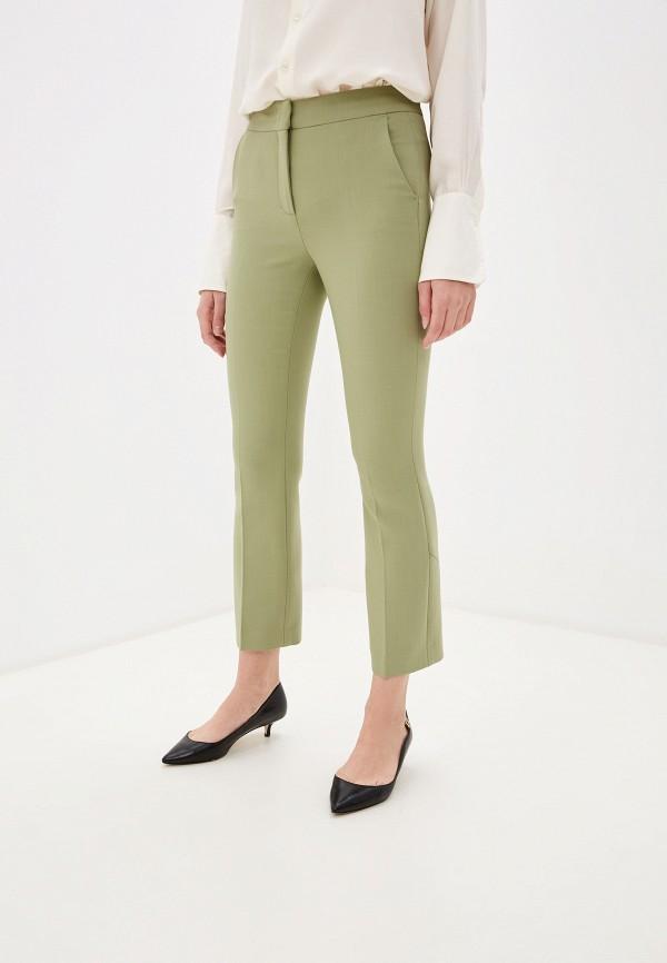 женские повседневные брюки dorothee schumacher, зеленые