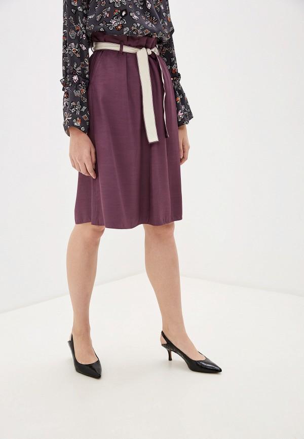 женская юбка dorothee schumacher, фиолетовая