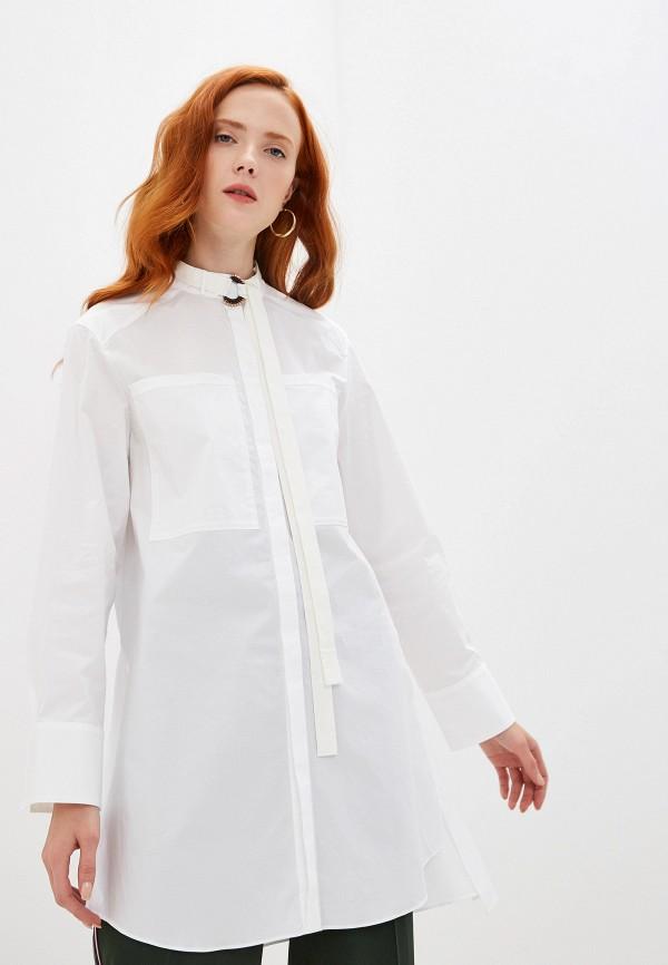 женская рубашка с длинным рукавом dorothee schumacher, белая