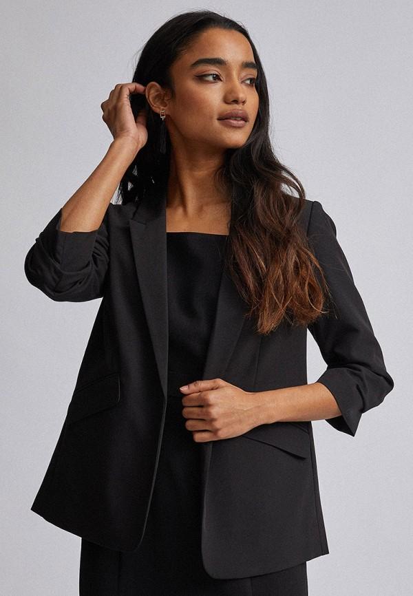 женский пиджак dorothy perkins petite, черный