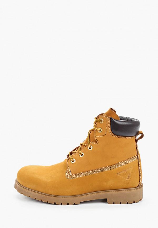 мужские ботинки docksteps, коричневые