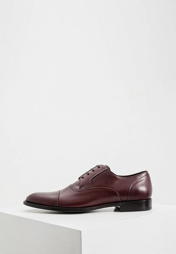 мужские туфли dolce & gabbana, бордовые