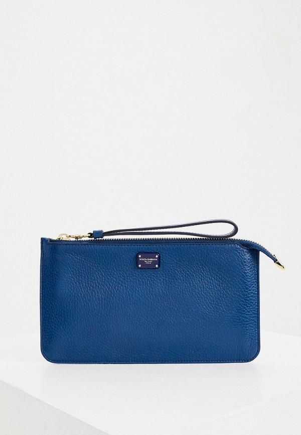 женский кошелёк dolce & gabbana, синий