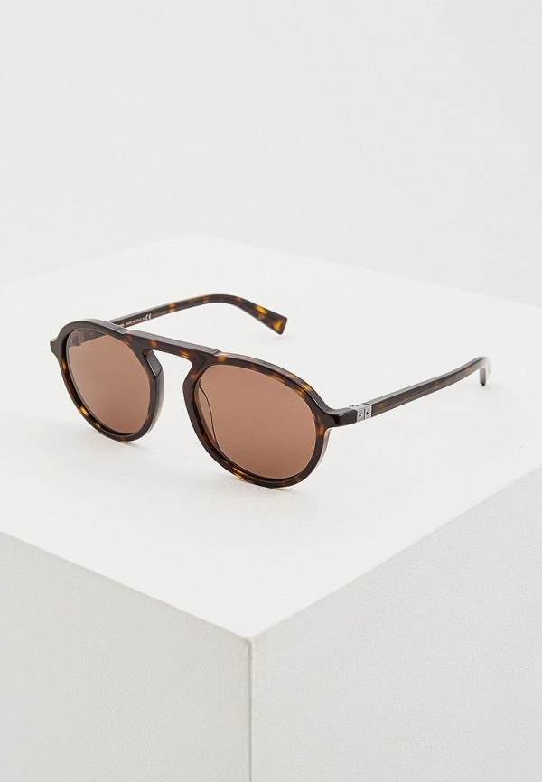 мужские солнцезащитные очки dolce & gabbana, коричневые
