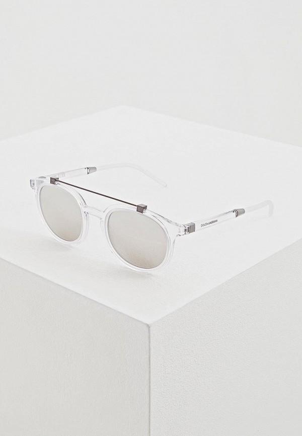 Купить Очки солнцезащитные Dolce&Gabbana прозрачного цвета