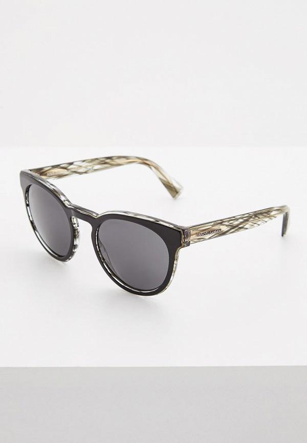 мужские солнцезащитные очки dolce&gabbana, черные