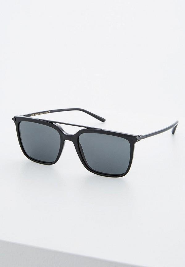мужские солнцезащитные очки dolce & gabbana, черные