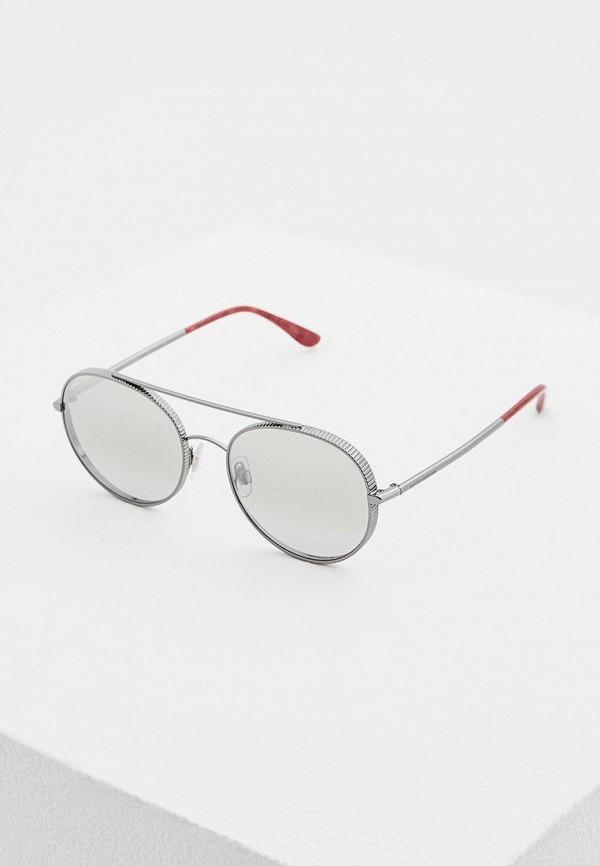 женские солнцезащитные очки dolce & gabbana, серебряные