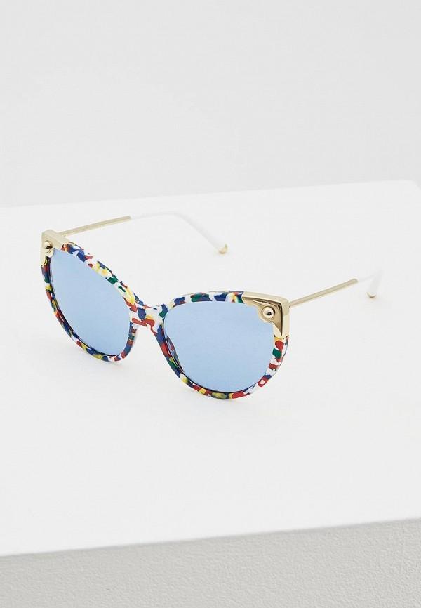 Купить Очки солнцезащитные Dolce&Gabbana синего цвета