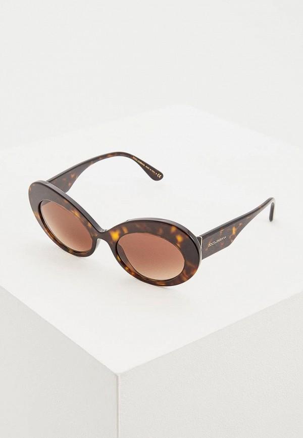 Купить Очки солнцезащитные Dolce&Gabbana коричневого цвета