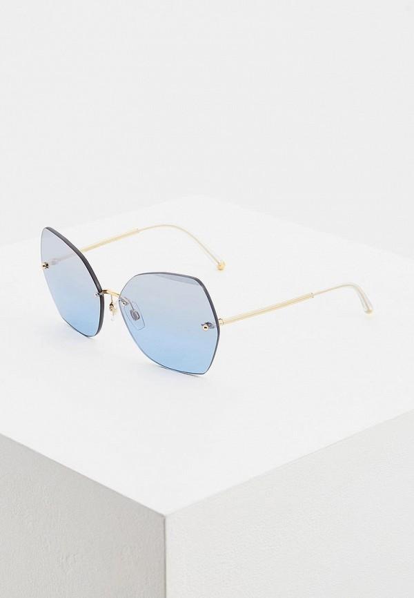 женские солнцезащитные очки dolce & gabbana, синие