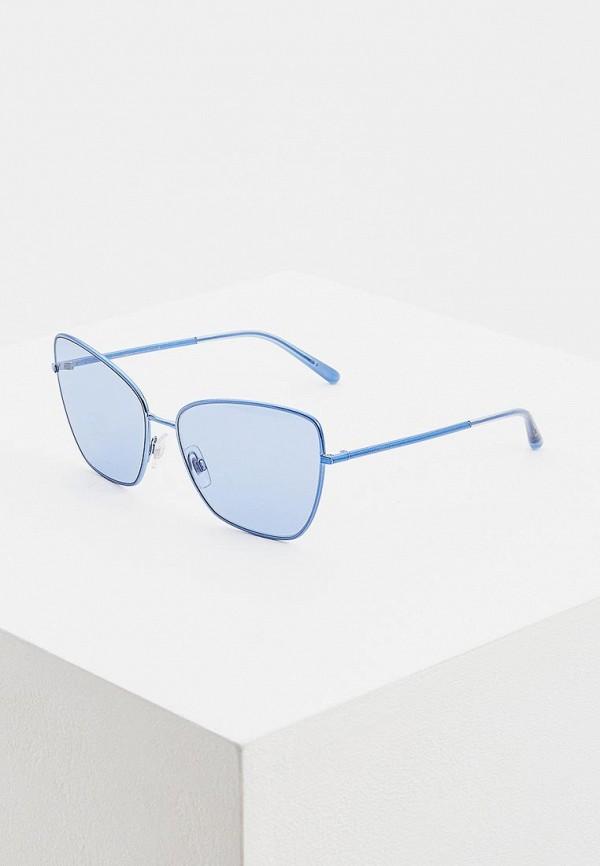 женские солнцезащитные очки dolce & gabbana, голубые