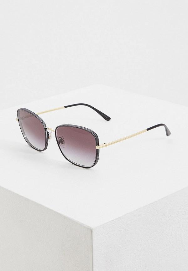 женские солнцезащитные очки dolce & gabbana, серые
