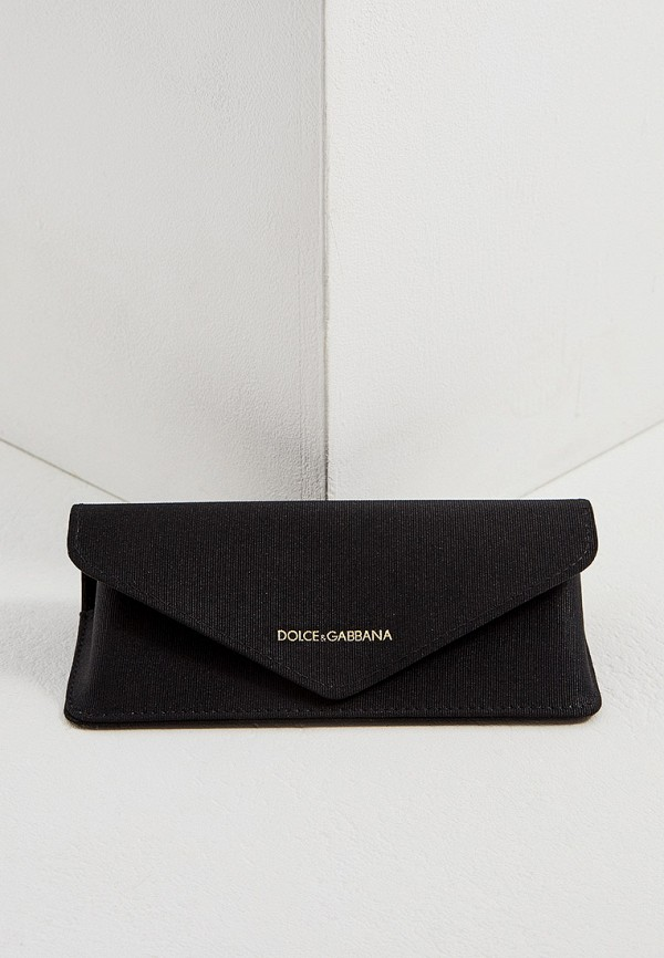 Фото 5 - Оправа Dolce&Gabbana черного цвета