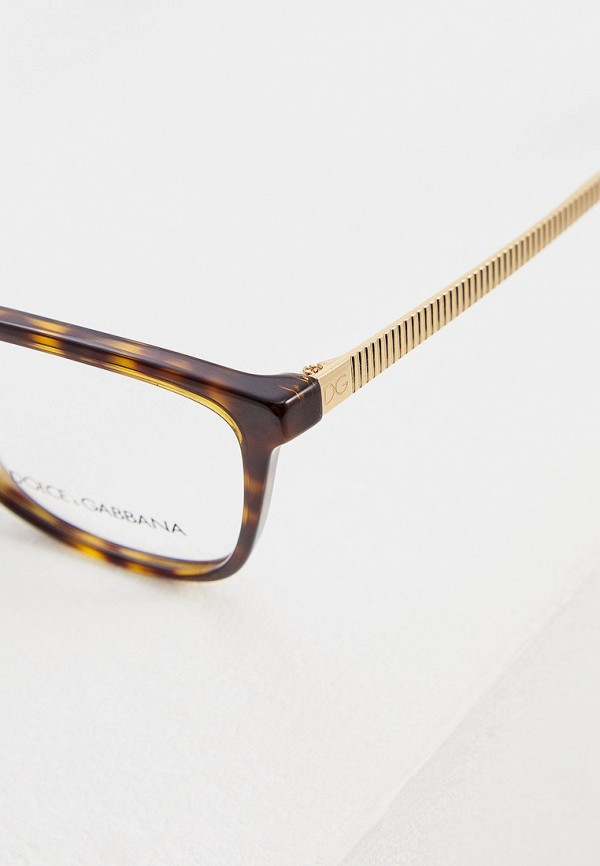 Фото 4 - Оправа Dolce&Gabbana коричневого цвета