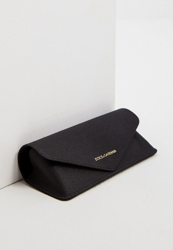 Фото 5 - Оправа Dolce&Gabbana коричневого цвета