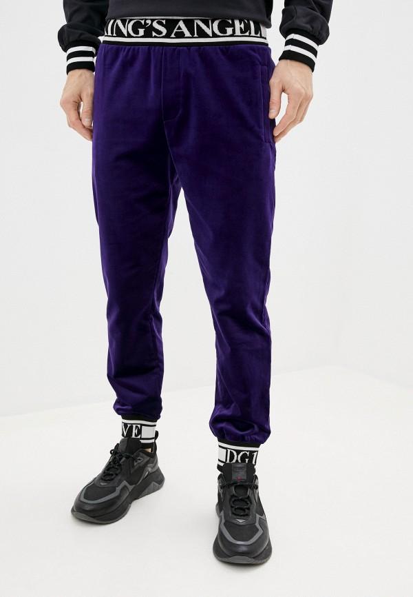 мужские спортивные брюки dolce & gabbana, фиолетовые
