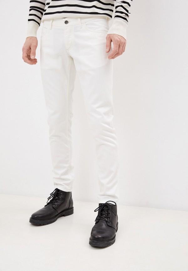 мужские зауженные джинсы dolce & gabbana, белые