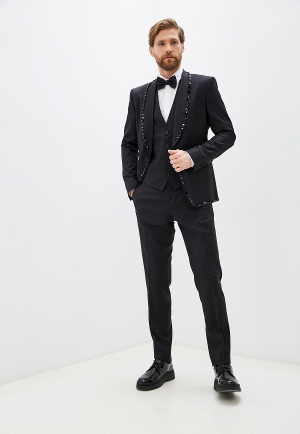 мужской классические костюм dolce & gabbana, черный