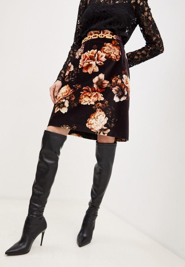 женская юбка dolce & gabbana, черная