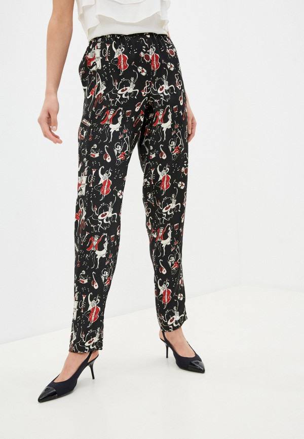 женские брюки dolce & gabbana, черные