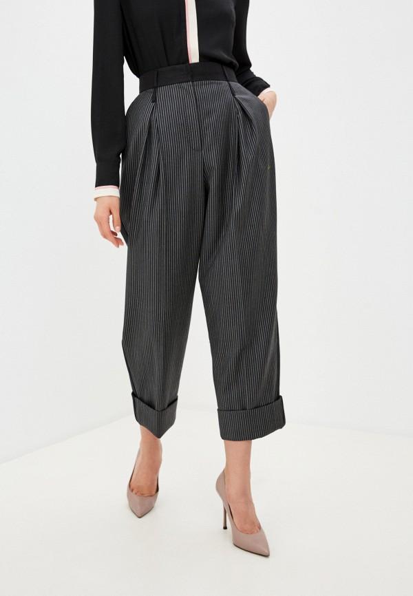 женские повседневные брюки dolce & gabbana, серые