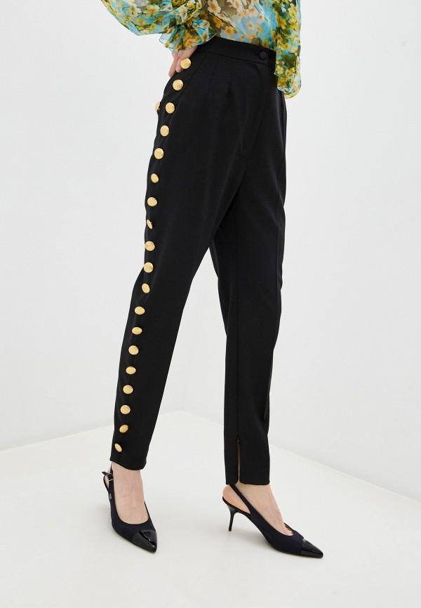 женские повседневные брюки dolce & gabbana, черные