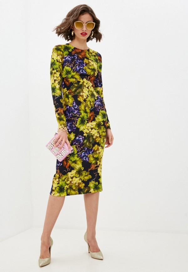 женское повседневные платье dolce & gabbana, разноцветное