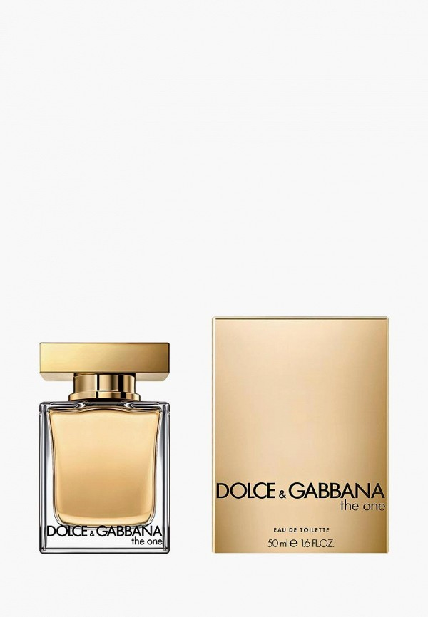 Купить Туалетная вода Dolce&Gabbana, The One, 50 мл, DO260LWAATS4, Осень-зима 2018/2019