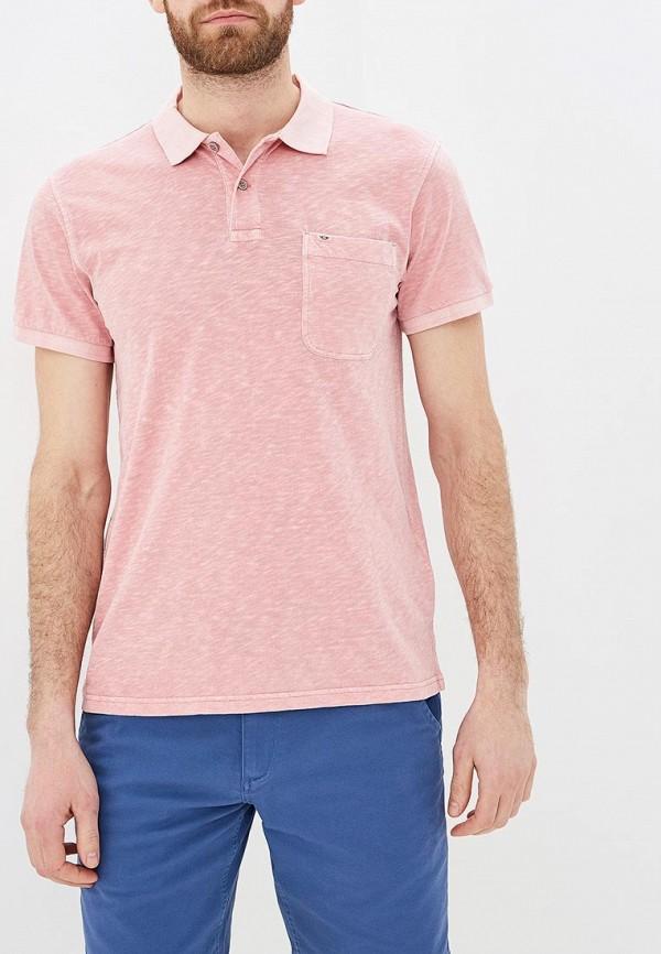 мужское поло dockers, розовое