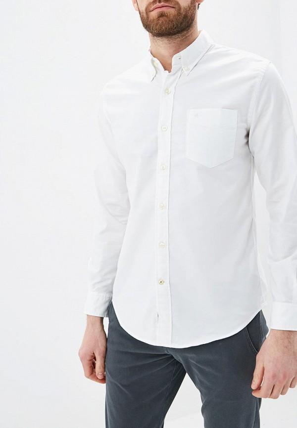 мужская рубашка с длинным рукавом dockers, белая