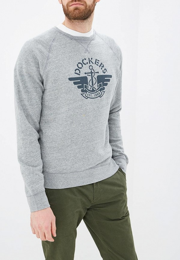 мужской свитшот dockers, серый