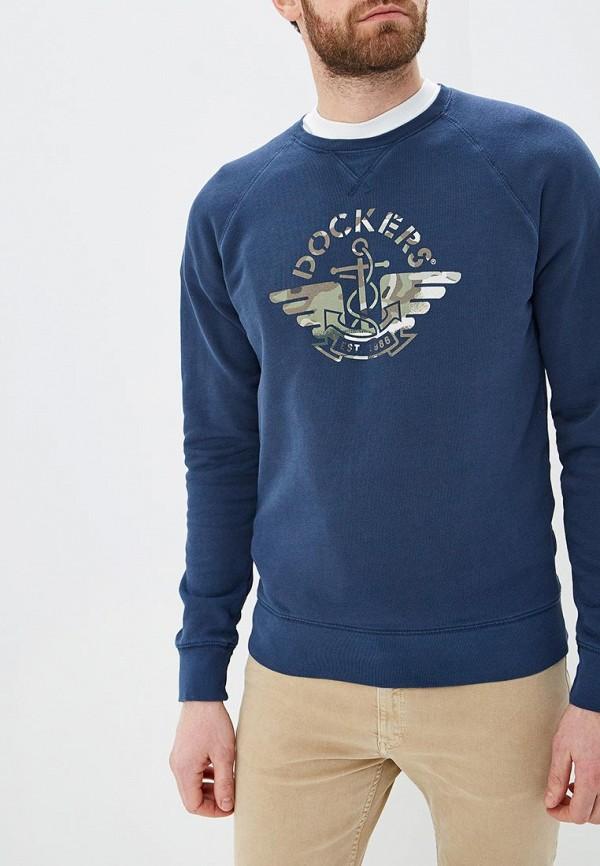 мужской свитшот dockers, синий