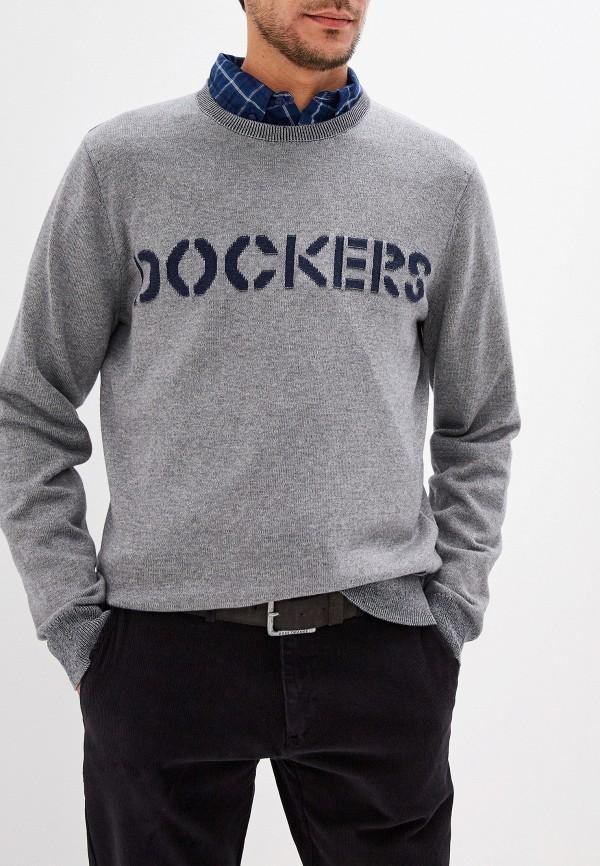 мужской джемпер dockers, серый