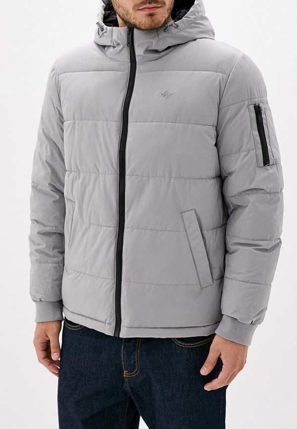 мужская куртка dockers, серая