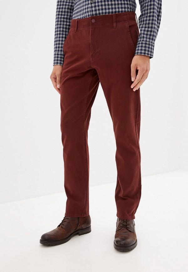 мужские повседневные брюки dockers, бордовые