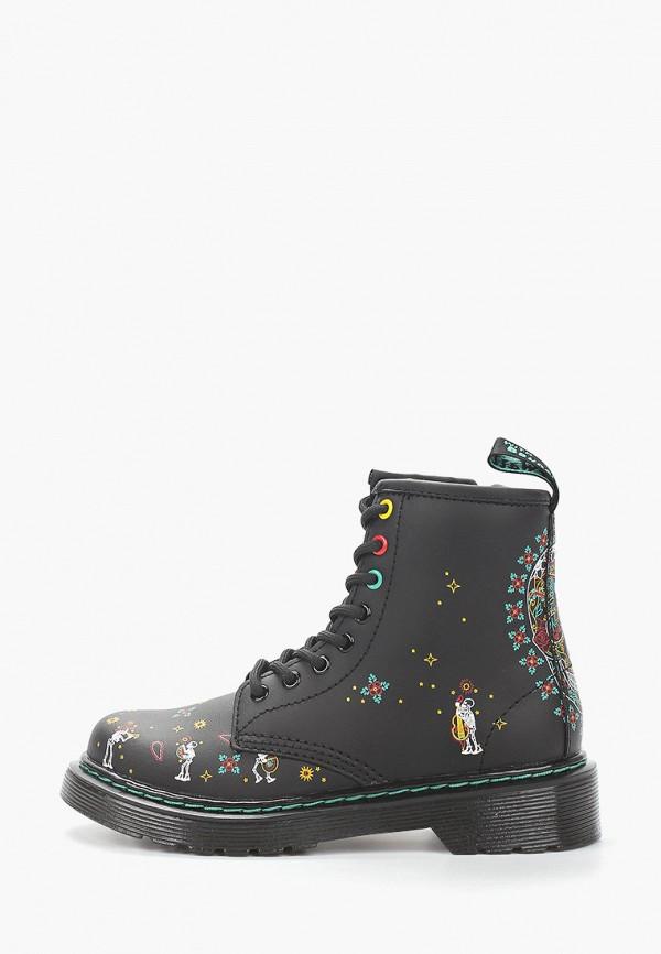 ботинки dr. martens для девочки, черные