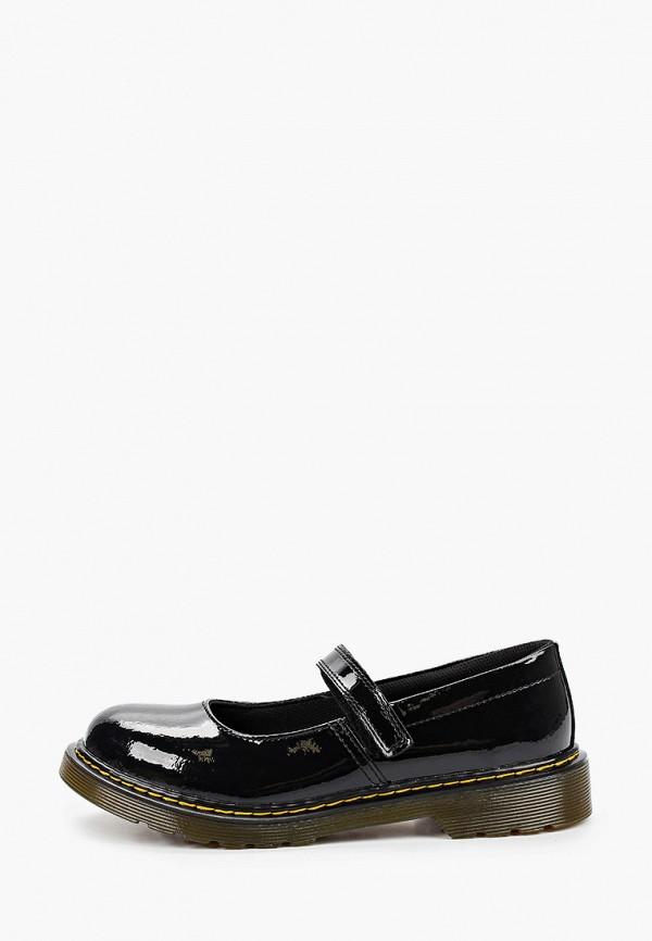 туфли dr. martens для девочки, черные