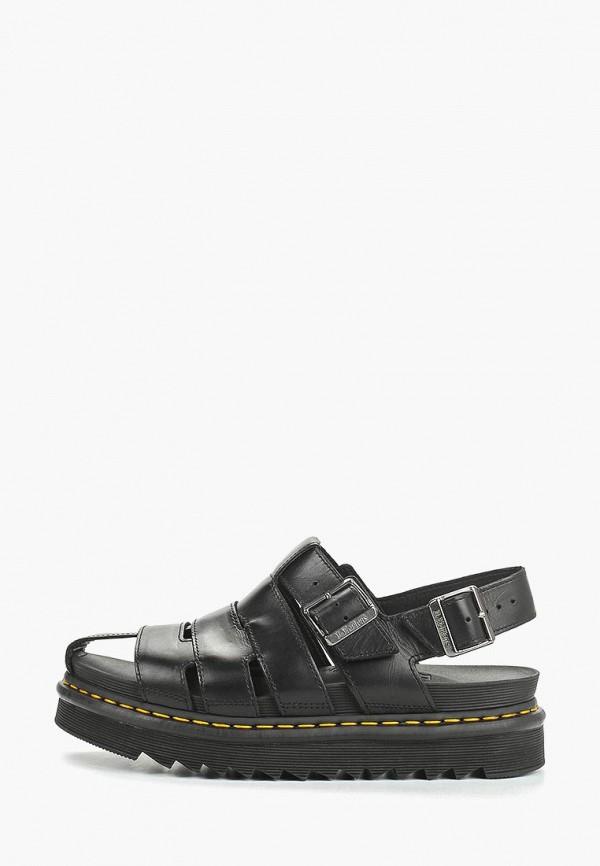 мужские сандалии dr. martens, черные