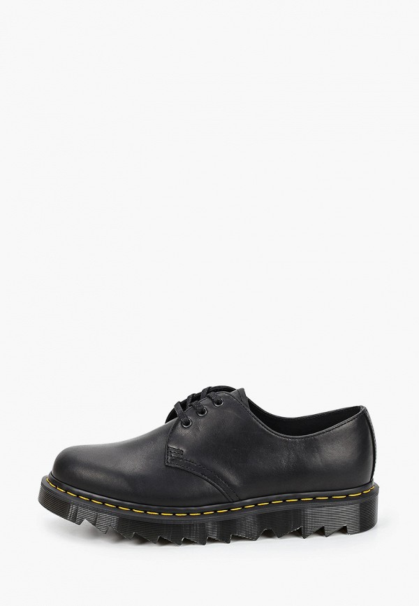 мужские туфли-дерби dr. martens, черные