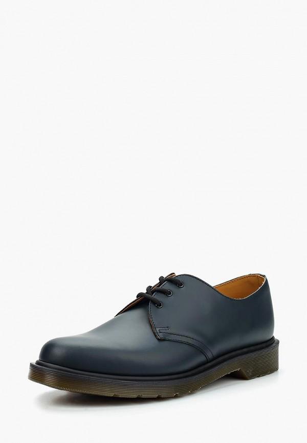 женские туфли dr. martens, синие