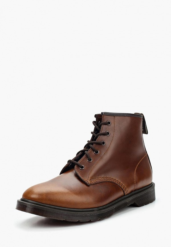 мужские ботинки dr. martens, коричневые