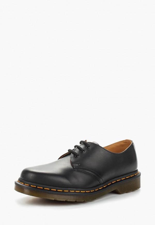 женские ботинки dr. martens, синие