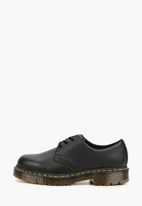 женские туфли dr. martens, черные