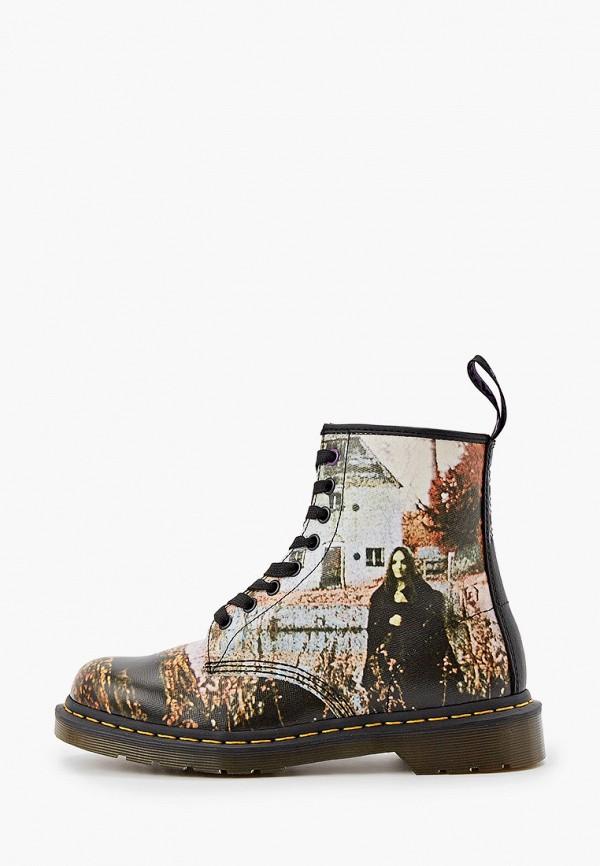 женские ботинки dr. martens, разноцветные