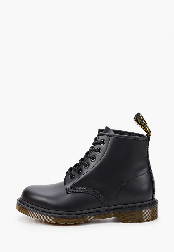 женские ботинки dr. martens, черные