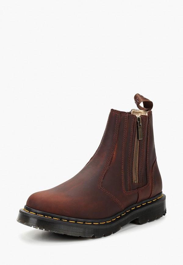 Купить Ботинки Dr. Martens, WinterGrip 2976 Alyson w/zips, dr004awcmth5, коричневый, Осень-зима 2018/2019