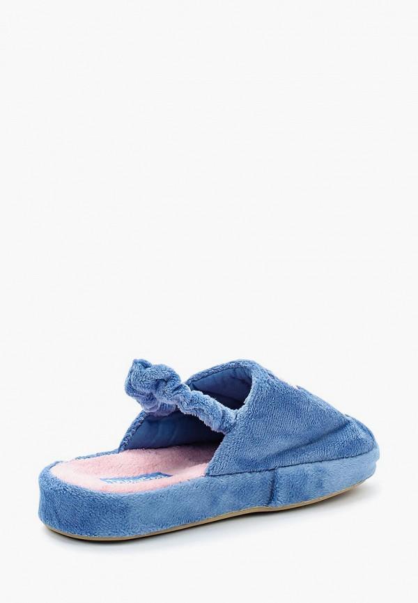 Фото 2 - Тапочки Dream Feet голубого цвета
