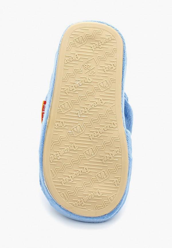 Фото 3 - Тапочки Dream Feet голубого цвета