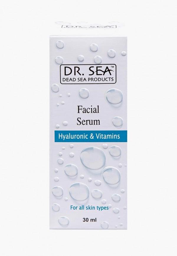 Купить Сыворотка для лица Dr. Sea, с гиалуроновой кислотой и витаминами, 30 мл, dr017lwbiwg6, белый, Весна-лето 2019